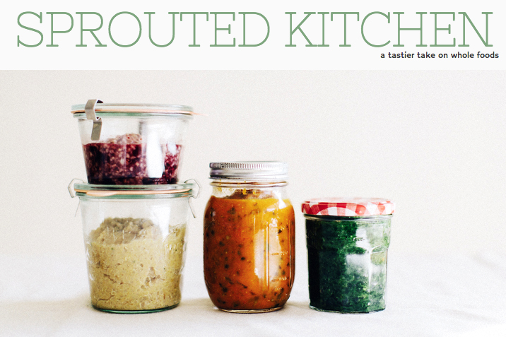 Sprouted Kitchen baby food